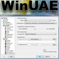 WinUAE (โปรแกรม WinUAE ลดสเปคเกมส์ เล่นเกมส์สเปคต่ำ) :