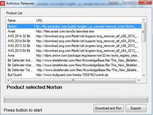 โปรแกรมลบโปรแกรม Antivirus Remover