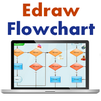 EDraw Flowchart (โปรแกรม วาด Flowchart ออกแบบ Flowchart) :
