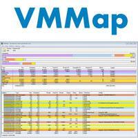 VMMap (โปรแกรม VMMap เช็คการใช้แรม ตรวจสอบ RAM ฟรี)