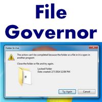 File Governor (โปรแกรมปลดล็อคไฟล์ โฟลเดอร์ ที่ลบ ย้าย ไม่ได้)