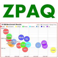 ZPAQ (โปรแกรม ZPAQ บีบอัดไฟล์ด้วยคอมมานด์)