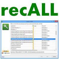 recALL (โปรแกรม recALL ดูรหัสผ่านจากเครื่องคอม ฟรี)