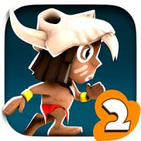 Manuganu 2 (App เกมส์วิ่งชาวเผ่า)