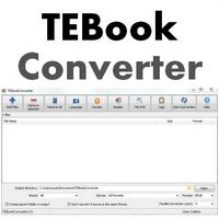 TEBookConverter (โปรแกรมแปลง EBook กว่า 25 ฟอแมต)