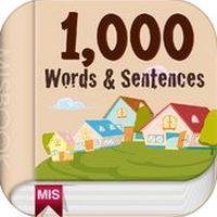 Basic 1,000 Words Sentences (App คำศัพท์ภาษาอังกฤษ)