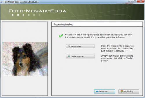โปรแกรมสร้างภาพโมเสก Foto Mosaik