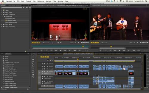 โปรแกรมตัดต่อวีดีโอ Adobe Premiere Pro