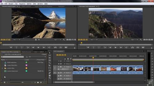 โปรแกรม Adobe Premiere Pro
