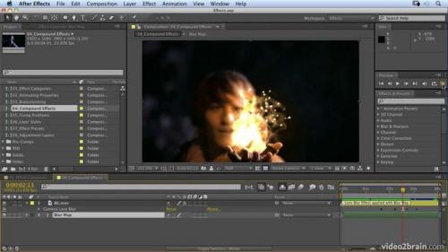 โปรแกรมตัดต่อวีดีโอ Adobe After Effects