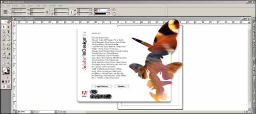 โปรแกรมออกแบบสื่อสิ่งพิมพ์ Adobe InDesign