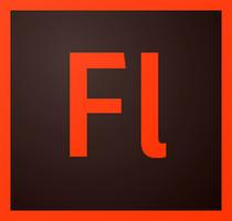 Adobe Flash Professional (โปรแกรมสร้างวีดีโอ ภาพเคลื่อนไหว) :