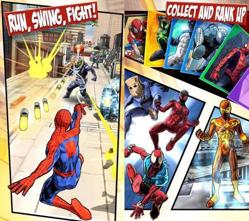 เกมส์สไปเดอร์แมน Spider-Man Unlimited