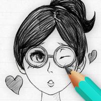 DrawWiz (โปรแกรม DrawWiz สร้างรูปการ์ตูน สเก็ตผู้หญิง) :