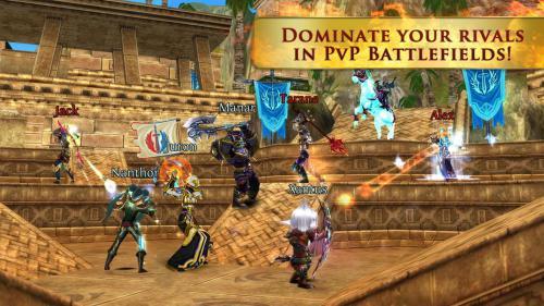 เกมส์ร่ายเวทมนต์ Order Chaos Online