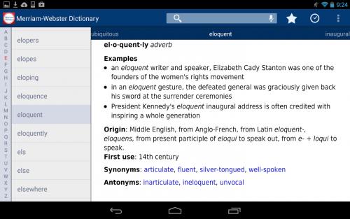 App ค้นหาศัพท์อังกฤษ