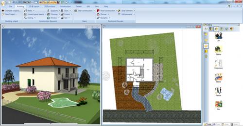 Ashampoo 3D CAD Architecture (โปรแกรมออกแบบสิ่งก่อสร้าง อาคาร สนาม) :