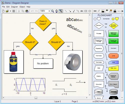 ดาวน์โหลดโปรแกรม Diagram Designer