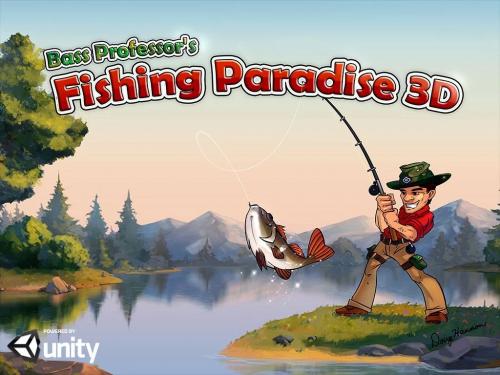 เกมส์ตกปลา Fishing Paradise 3D Free