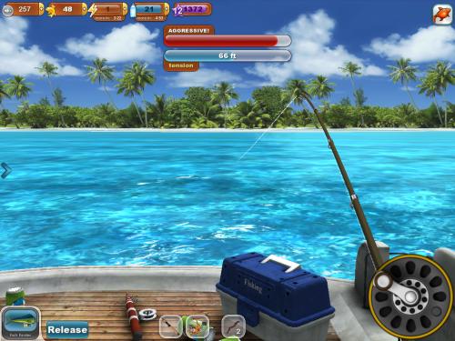 App เกมส์ตกปลา Fishing Paradise 3D Free