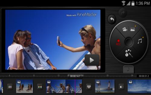 App ตัดต่อคลิปวีดีโอ KineMaster