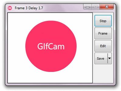 โปรแกรมอัดวีดีโอหน้าจอ GifCam