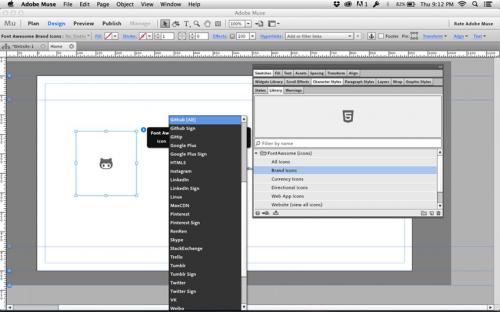 Adobe Muse (โหลดโปรแกรม Muse ออกแบบเว็บเพจ) :
