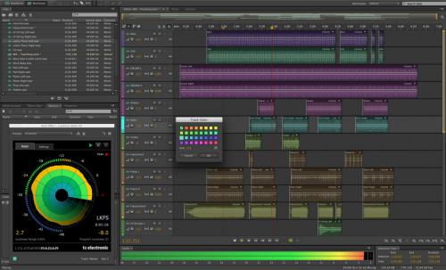 โปรแกรมแต่งเพลง Adobe Audition