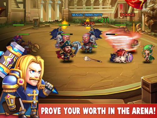 เกมส์ Heroes Charge