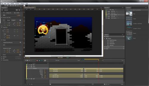 โปรแกรมสร้างอนิเมชั่น Adobe Animate CC