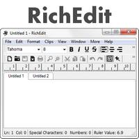 RichEdit (โปรแกรม RichEdit แก้ไขข้อความ ฟรี)