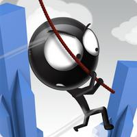 Rope n Fly 4 (App เกมส์โหนเชือกบินข้ามเมือง)