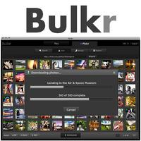 Bulkr (โปรแกรม Bulkr โหลดรูป เซฟวีดีโอ จาก Flickr ฟรี)