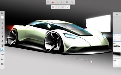 App วาดรูปภาพ ระบายสีAutodesk SketchBook