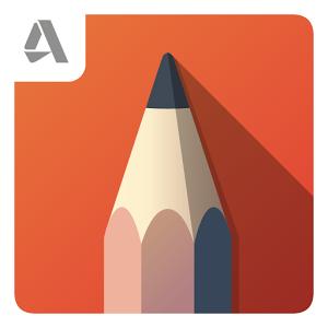Autodesk SketchBook (App วาดภาพระบายสี จาก Autodesk) :