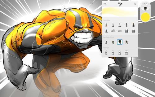 App วาดรูปภาพ ระบายสี Autodesk SketchBook