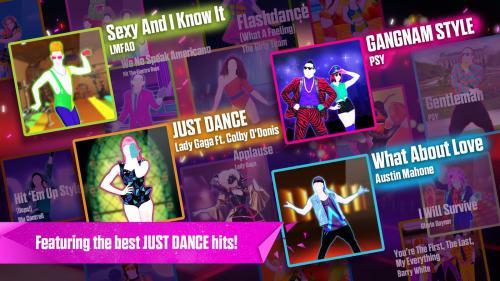 เกมส์เต้นเข้าจังหวะ Just Dance Now