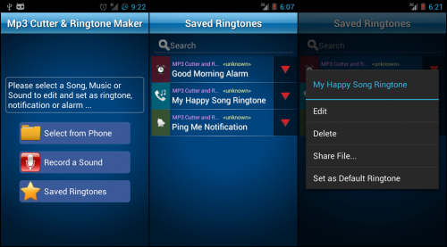 MP3 Cutter and Ringtone Maker (App ตัดต่อเพลง) :