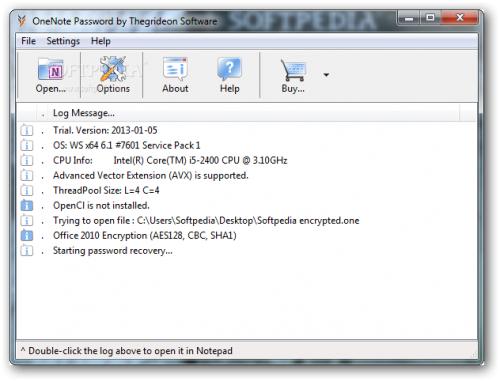 ดาวน์โหลดโปรแกรม OneNote Password