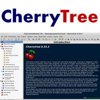 CherryTree (โปรแกรม CherryTree เขียนโน๊ต บันทึกข้อความ) :