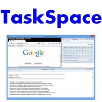 TaskSpace (โปรแกรม TaskSpace เปิดหลายหน้าจอในหน้าเดียว ฟรี) :