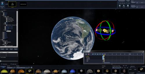 โปรแกรมดูดาว WorldWide Telescope