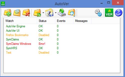 โปรแกรมแบ็คอัพข้อมูล AutoVer