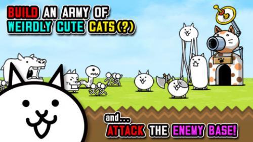 App เกมส์แมว The Battle Cats