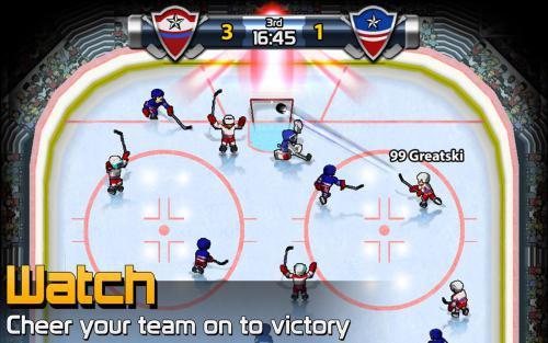 เกมส์การ์ดฮอกกี้ Big Win Hockey 2014