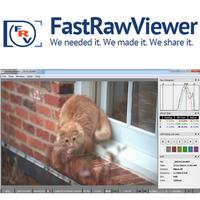 FastRawViewer (โปรแกรมเปิดไฟล์ภาพดิบ RAW ไฟล์ RAW ฟรี) :