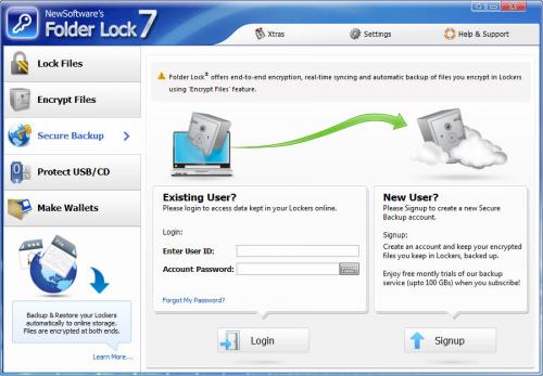 โปรแกรมล็อคไฟล์ Folder Lock