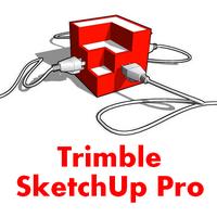 Trimble SketchUp Pro (โปรแกรมออกแบบบ้าน ออกแบบภาพ 3 มิติ) :