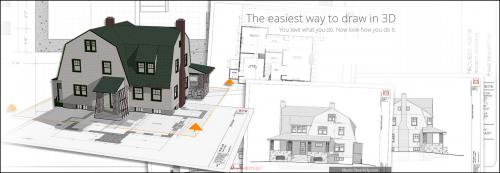 โปรแกรมออกแบบบ้าน Trimble SketchUp Pro