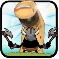 Finger VS Axes (App เกมส์ลากนิ้วต่อสู้)